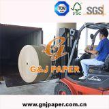 Papier de tuyautage non-enduit de bonne qualité en roulis pour l'empaquetage de cadre