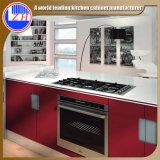 Armário de madeira da cozinha para a mobília Home (personalizada)