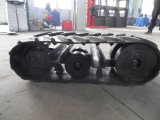 Het nieuwe RubberKruippakje van het Spoor voor Voertuig van Leve