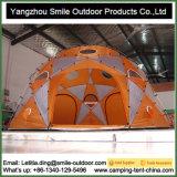 거대한 12명의 사람 Trampoline 야영 가족 둥근 돔 천막