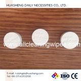 Tablettes d'essuie-main de main de pièce de monnaie de rayonne de Viscos, tablette magique d'essuie-main, tablette