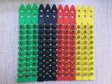 黄色。 27口径のプラスチック10打撃S1jl 27の口径ロードストリップ力ロード