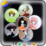 Sweet Lovely Portative Circular Cartoon Cosmetic Mirror