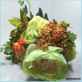 가정 훈장 Mariage 결혼식 훈장 도매업자를 위한 실크 인공 꽃 가짜 로즈