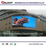 Affichage vidéo fixe extérieur polychrome de P5 DEL pour annoncer, signe