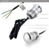 il mini LED indicatore luminoso sotterraneo IP67 di 3W AC100-240V impermeabilizza la lampada