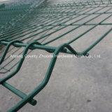 Наградной ограждать провода сетки ширины 2.5m высоты 2.0 x Ral 6005