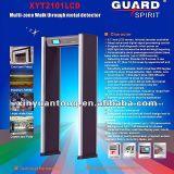 De hoge Poort van de Detector van het Metaal van de Veiligheid van de Prijs van de Gevoeligheid Goedkope (XYT2101LCD)