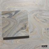 装飾的で物質的な質の大理石の固体表面の壁パネル(KKR-S1910)