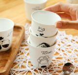 Tazas de té al por mayor de la porcelana del OEM para los cabritos