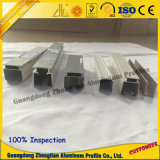Cadre en aluminium pour porte coulissante Rail suspendu en aluminium