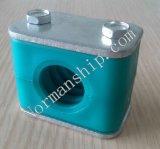 Braçadeira de tubulação plástica hidráulica