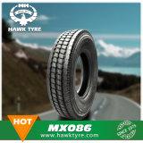 2017 chinesische Hochleistungs-LKW-Reifen mit Gefäß und Abdeckstreifen (650R16 700R16 750R16 825R16 825R20 900R20 1000R20 1100R20 1200R20 1200R24)