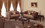 アメリカファブリックソファーの骨董品愛シートの椅子及び古典的な表セット