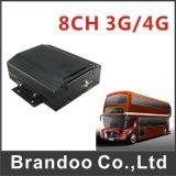 3G GPS移動式DVR 8チャネルHDDのリアルタイムのビデオ録音