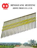 "21 Degree, 2 "" X. 113 "" Framing Nails, Screw Shank Bright plastic Strip Nails"