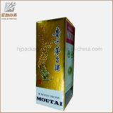 Caisse d'emballage de bouteille de boisson alcoolisée avec le guichet