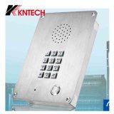 Teléfono video Kntech Knzd-06 de la puerta del teléfono de la cárcel del teléfono de la prisión del teléfono de VoIP