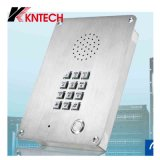 Telefone video Kntech Knzd-06 da porta do telefone da cadeia do telefone da prisão do telefone de VoIP