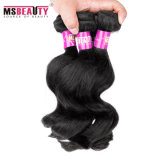 Do Virgin frouxo da onda da qualidade superior Weave 100% peruano do cabelo