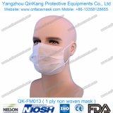 메마른 짠것이 아닌 의학 3개은 Earloop로 외과 인공호흡기 Facemasks를 부지런히 쓰거나 Qk-FM009에 맨다