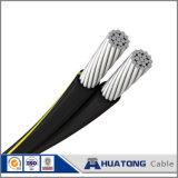 Câble électrique en aluminium d'ABC du projet AAC AAAC ACSR de fil et de câble