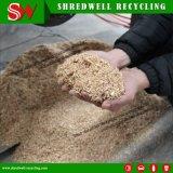 La planta de reciclaje de madera inútil automática recicla la pelotilla y el serrín de madera de la biomasa del producto del desecho