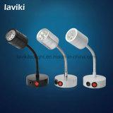 1-3W / 3-9W Luz de ponto LED portátil com bateria de lítio recarregável de polímero