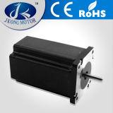 Fabricación de China 1.8 grados 60mm NEMA 24 híbrido motor de pasos del esfuerzo de torsión del motor eléctrico con precio barato