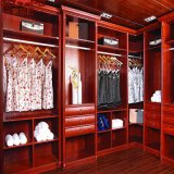 Sample Fancy Bedroom Walk in Wood Wardrobe (GSP17-013)
