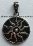 Colgante de encargo del encanto del pegamento de la joyería del acero inoxidable de la manera