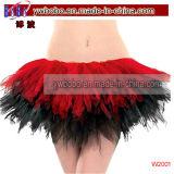 Disfraces de Negro y Rojo Pañuelo Tutu (V1001)