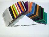 Лист штрангя-прессовани акриловый прошел испытание RoHS SGS в листе плексигласа листа радуги PMMA цвета