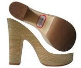 Древесин-Имитирующ ботинки материальные