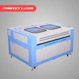 Máquina de estaca de couro acrílica de madeira da gravura do laser do CO2 do papel do frasco 160100 de vidro