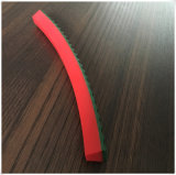 Cinghia di superficie della pinsa di v del PVC di verde superiore