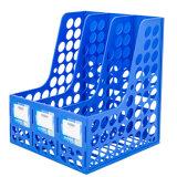 Organizzatore di plastica della casella del supporto dell'archivio dello scomparto dello scrittorio della casa dell'ufficio delle 3 colonne