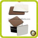 Caboteur en bois carré de liège pour la sublimation de teinture de Chine