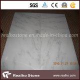 Laje de mármore branca oriental branca oriental Polished de China para o revestimento