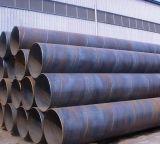 Sumergir laminado en caliente espiral de arco de acero soldado de tuberías para transporte de fluidos