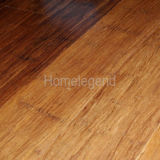 Nouveau design Retro Style Three Strips Carbonized Strand Woven Bamboo Flooring