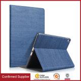 Tampa híbrida de couro delicada da caixa do plutônio para o iPad PRO