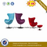 Estofado de tecido Base de metal Home Use Lounge Chair Lounge Chair (UL-JT822)