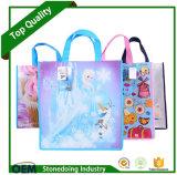 Изготовленный на заказ промотирование Facotry и полная хозяйственная сумка цвета Non сплетенная