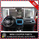Ajuste central del estilo azul material del ABS del accesorio auto para el modelo renegado (1PC/SET)
