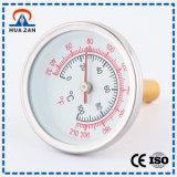 Hohe Präzisions-chinesisches Hersteller-Manometer-Temperatur-Anzeigeinstrument