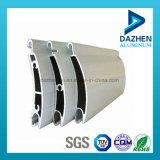 Obturador rodadura Pliegue 6063 Perfil de aluminio de aleación de aluminio