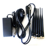 Emisión de gran alcance ajustable de la señal del teléfono celular de 15W 3G 4G con 6 antenas