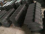 Azulejo revestido revestido del azulejo de azotea de la piedra de la hoja de acero de la azotea/de azotea de la piedra