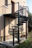 escalera de acero al aire libre galvanizada seguridad